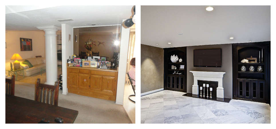 : Before & After's : CASA DEL REY HOMES